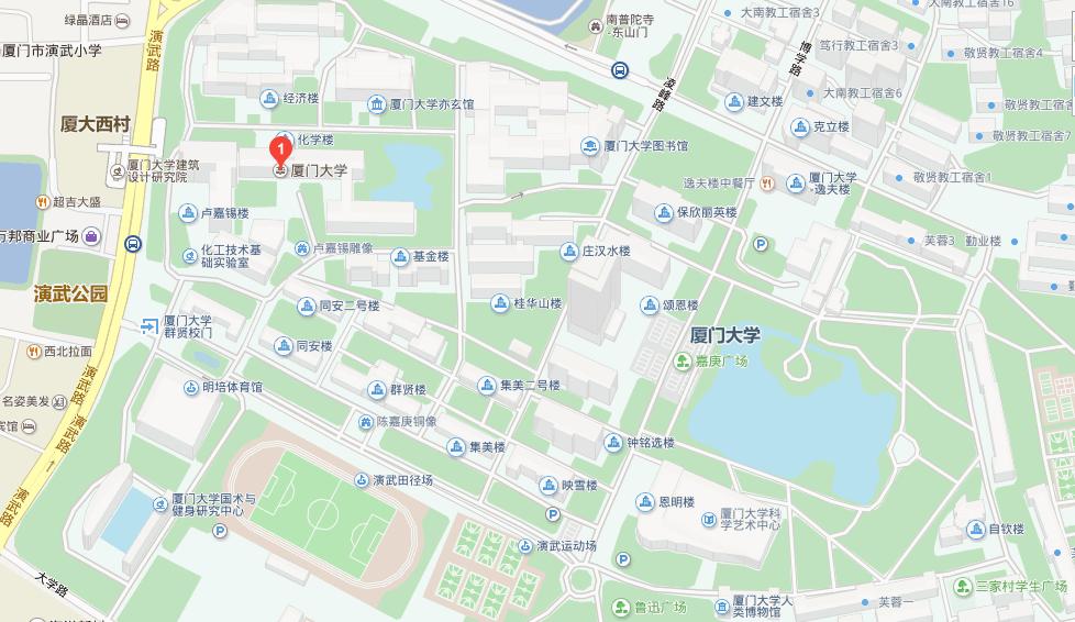 厦门大学地图